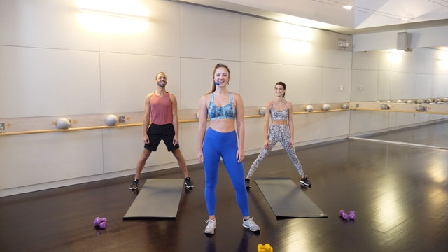 Barre+Cardio with Leah Hassett