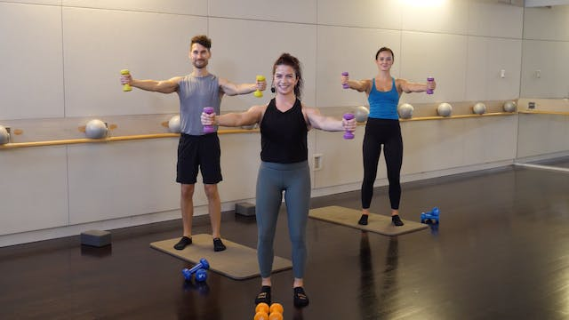 Advanced Barre Express with Sarah Amb...