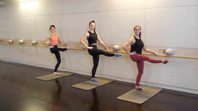 Beginner Barre with Leah Hassett