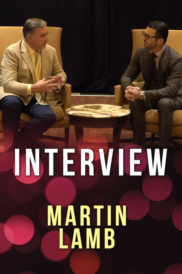 Interview with Martin Lamb