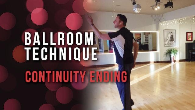 Ballroom Technique - Continuity Ending