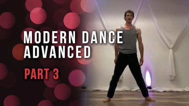 Modern Dance Advanced - Part 3