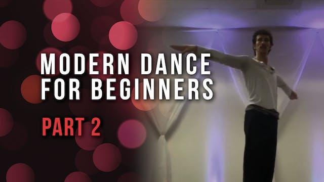 Modern Dance For Beginners- Part 2