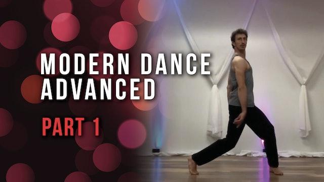 Modern Dance Advanced - Part 1