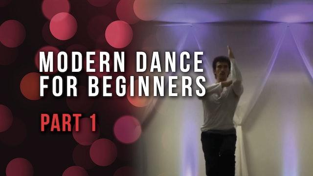 Modern Dance For Beginners- Part 1