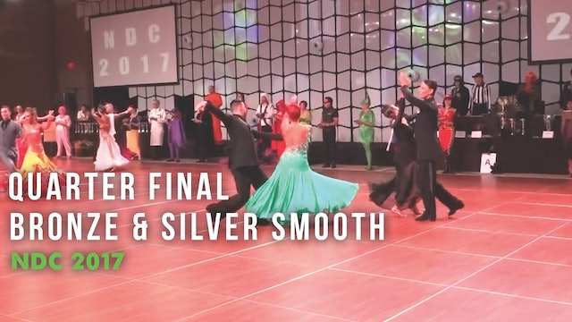 Quarter Final Bronze & Silver Smooth NDC 2017