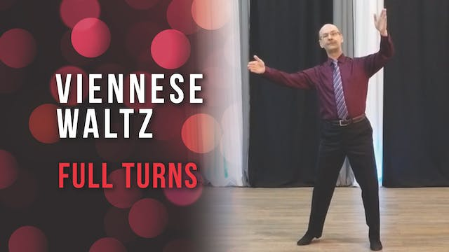 Viennese Waltz - Full Turns