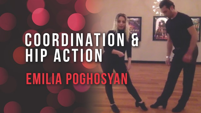 Emilia Poghosyan - Coordination & Hip Action in International Rumba