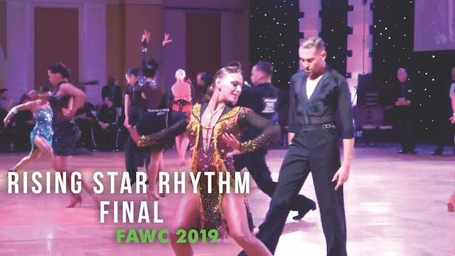 Rising Star Rhythm Final FAWC 2019
