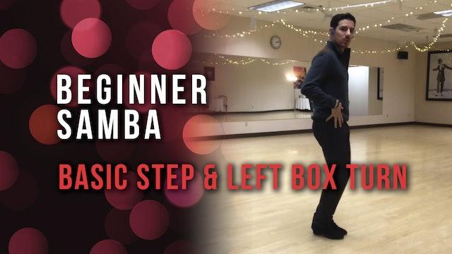 Beginner Samba - Basic Step & Left Box Turn