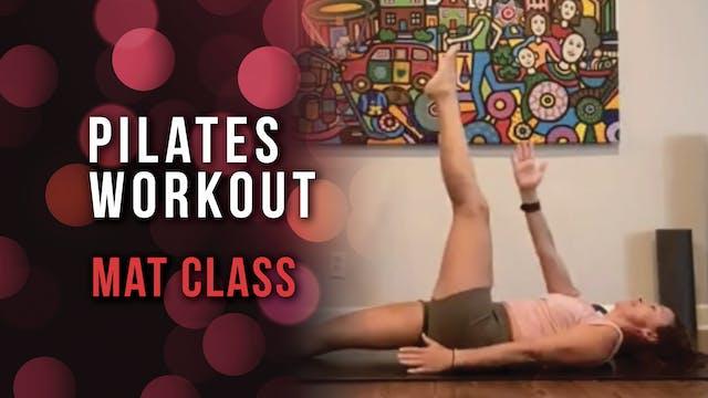 Pilates Workout - Mat Class