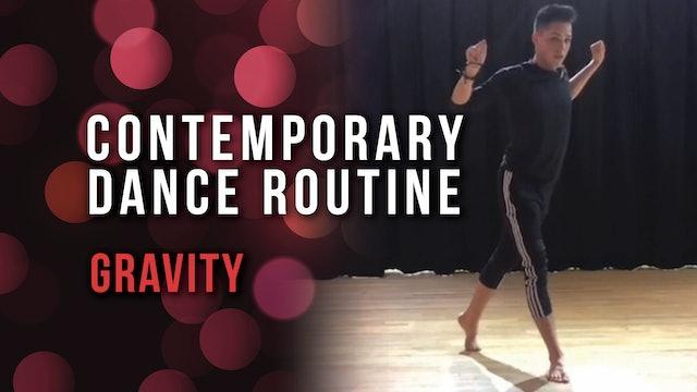 Contemporary Dance Routine - Gravity