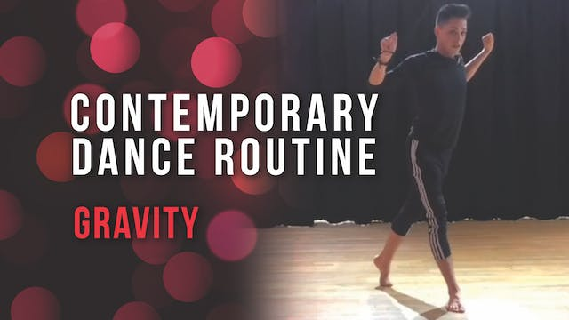 Contemporary Dance Routine - Gravity