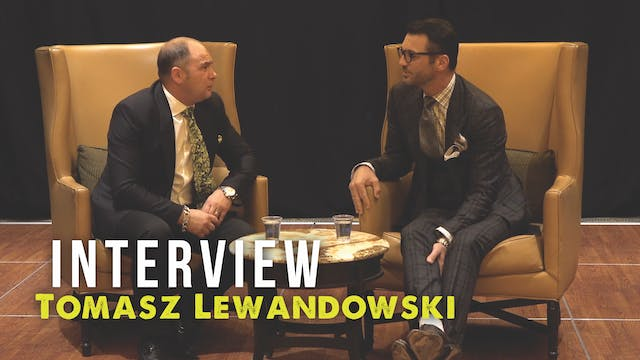 Interview with Tomasz Lewandowski