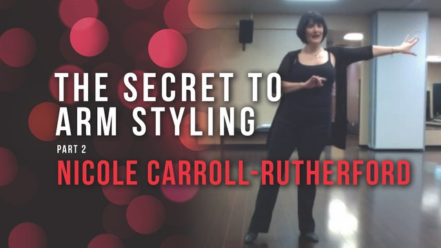 The Secret To Arm Styling Part II