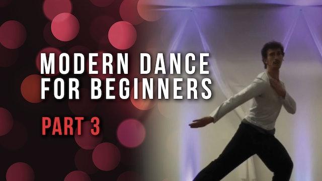 Modern Dance For Beginners- Part 3