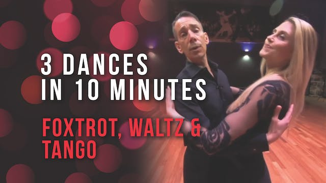 3 Dances in 10 Minutes - Smooth