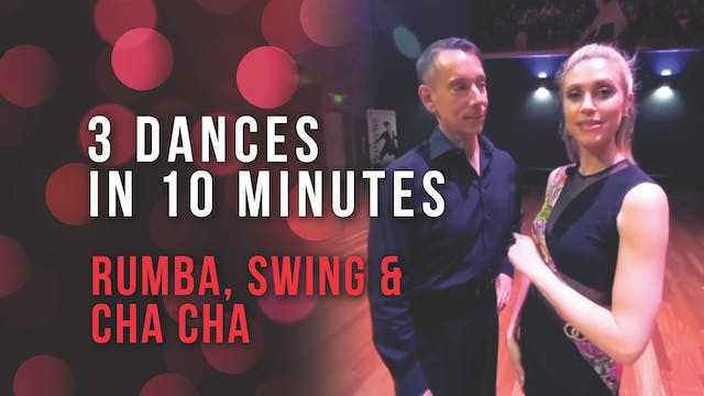 3 Dances in 10 Minutes - Rhythm