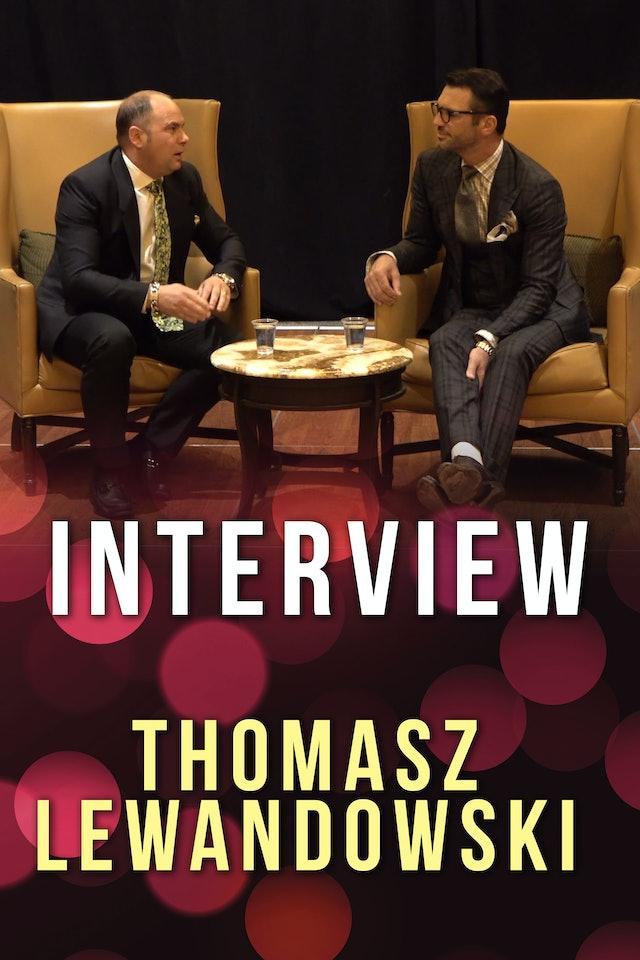 Interview with Tomasz Lewandowski