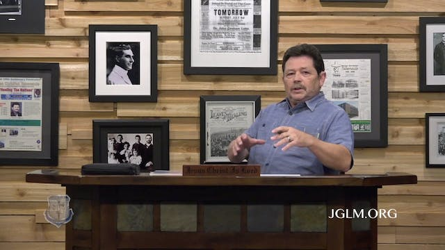 John G Lake Ministries (06-08-2020)