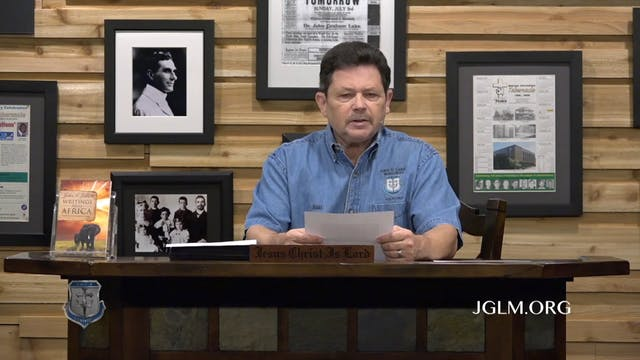 John G Lake Ministries (06-19-2020)