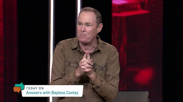 Answers With Bayless Conley (07-24-20...