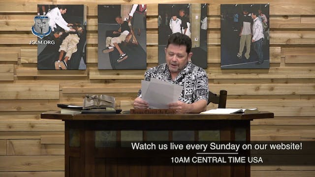 John G Lake Ministries (03-13-2020)