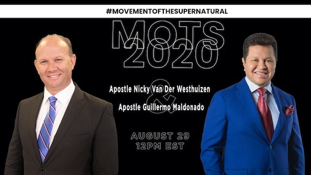 Movement Of The Supernatural Live