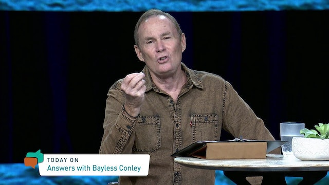 Answers With Bayless Conley (07-17-2021)