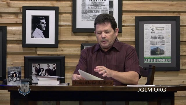 John G Lake Ministries (04-17-2020)