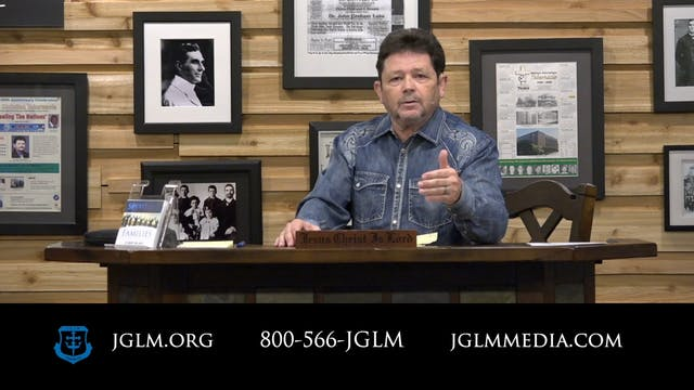 John G Lake Ministries (08-26-2020)