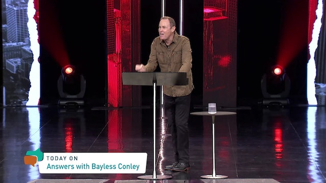 Answers With Bayless Conley (11-21-2020)