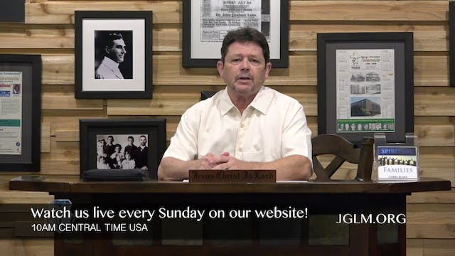John G Lake Ministries (11-10-2020)