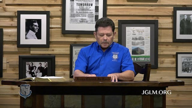 John G Lake Ministries (03-26-2020)