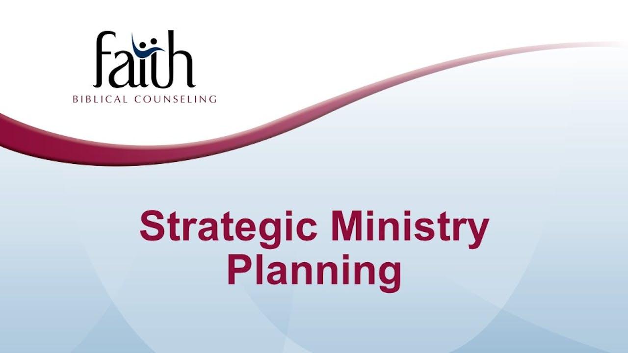 Strategic Ministry Planning