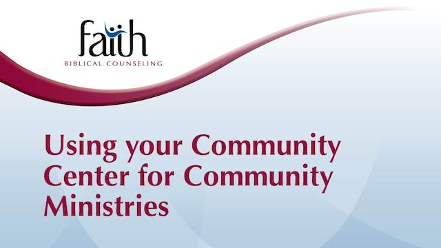 5 - Using the Community Centers to do Community Outreach (Josh Greiner)