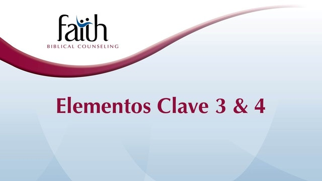 KE3&4 Reúne Información Relevante y Evalúa el Problema Bíblicamente (Hornbrook)
