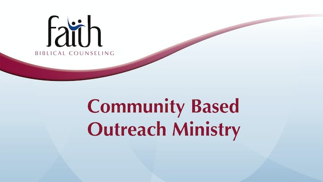 Community Based Outreach Ministry