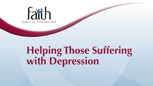 Helping Those Suffering With Depression (Dan Wickert)
