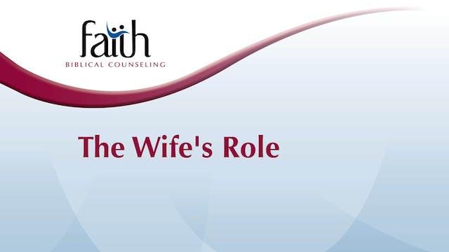 The Wife's Role (Dustin Folden)
