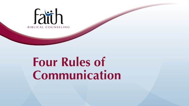 Four Rules of Communication (Rob Green)