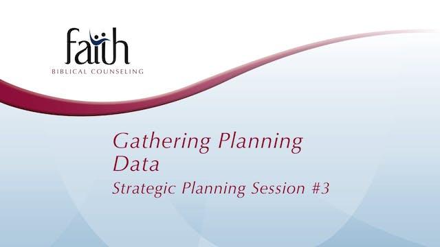 3 Gathering Planning Data (Arvid Olson)