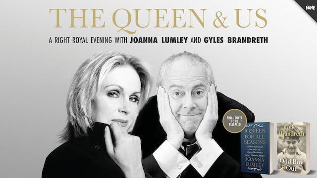 Joanna Lumley and Gyles Brandreth: 23 Nov 19:30 UK