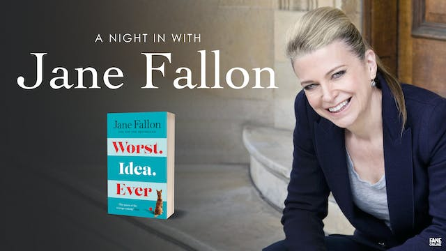 A Night In With Jane Fallon - ON DEMAND