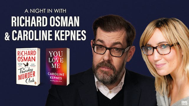 A Night In with Osman and Kepnes: 17 May, 18:30 UK