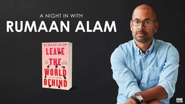 A Night In with Rumaan Alam: 12 Jun 18:30 UK