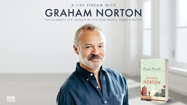 A Live Stream with Graham Norton: 27 Sep 18:30