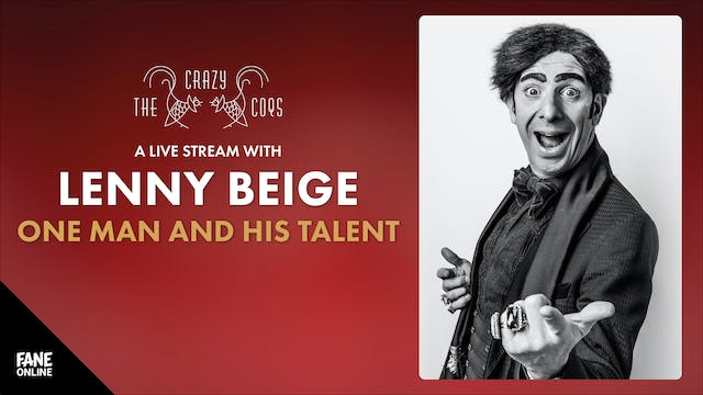 A Live Stream with Lenny Beige: 10 Sep 19:00