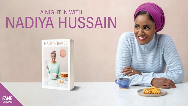 A Night In With Nadiya Hussain: 9 Dec 18:30