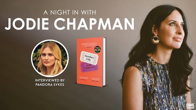 A Night In with Jodie Chapman: 24 May, 20:15 UK
